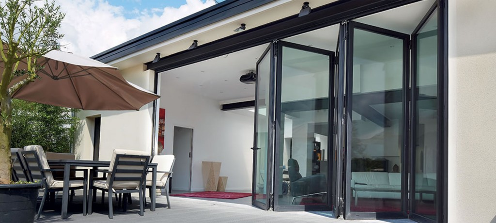 opening options when fitting bifold doors