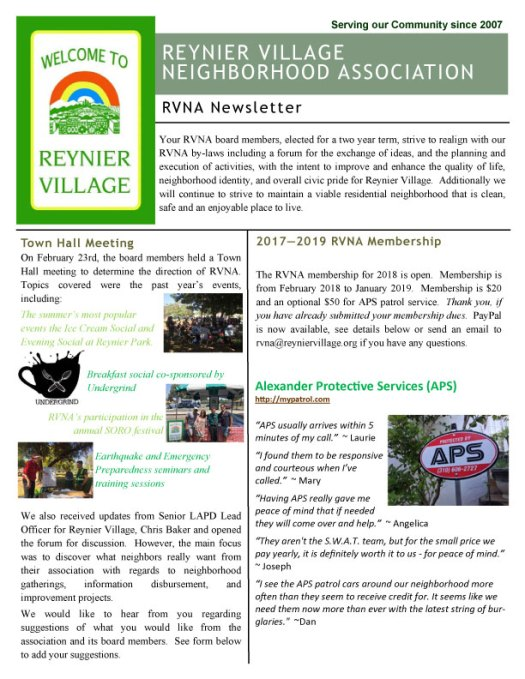 Click to open full newsletter as a PDF file
