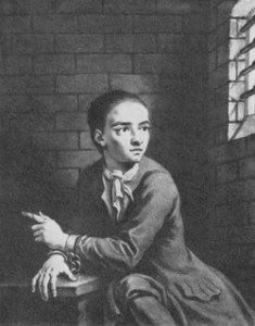 Jack Sheppard (Thief and House-breaker. Source: executedtoday.com)