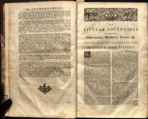 Charles Johnson's Lives of the Most Remarkable Criminals (1735).