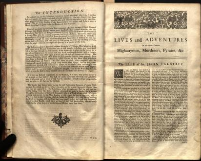 Charles Johnson's Lives of the Most Remarkable Criminals (1735)