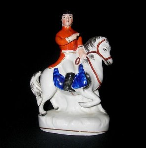 Staffordshire Figurine of the Duke of Wellington