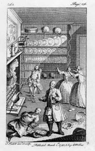 Illustration from Joseph Andrews (1742)