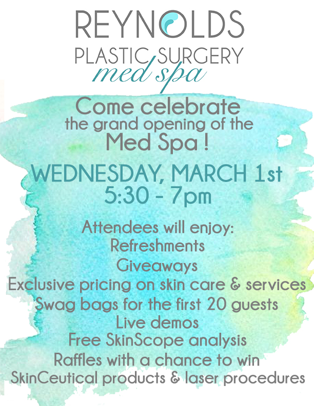 Reynolds Plastic Surgery - MedSpa Open House
