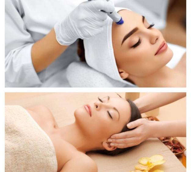 Woman in Medical Spa