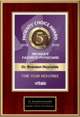 Patients' Choice Award - 5 years