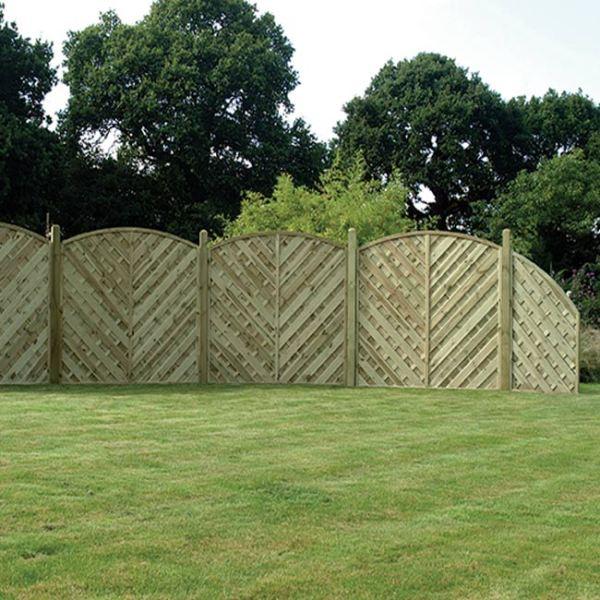 Garden Fencing in Bromborough