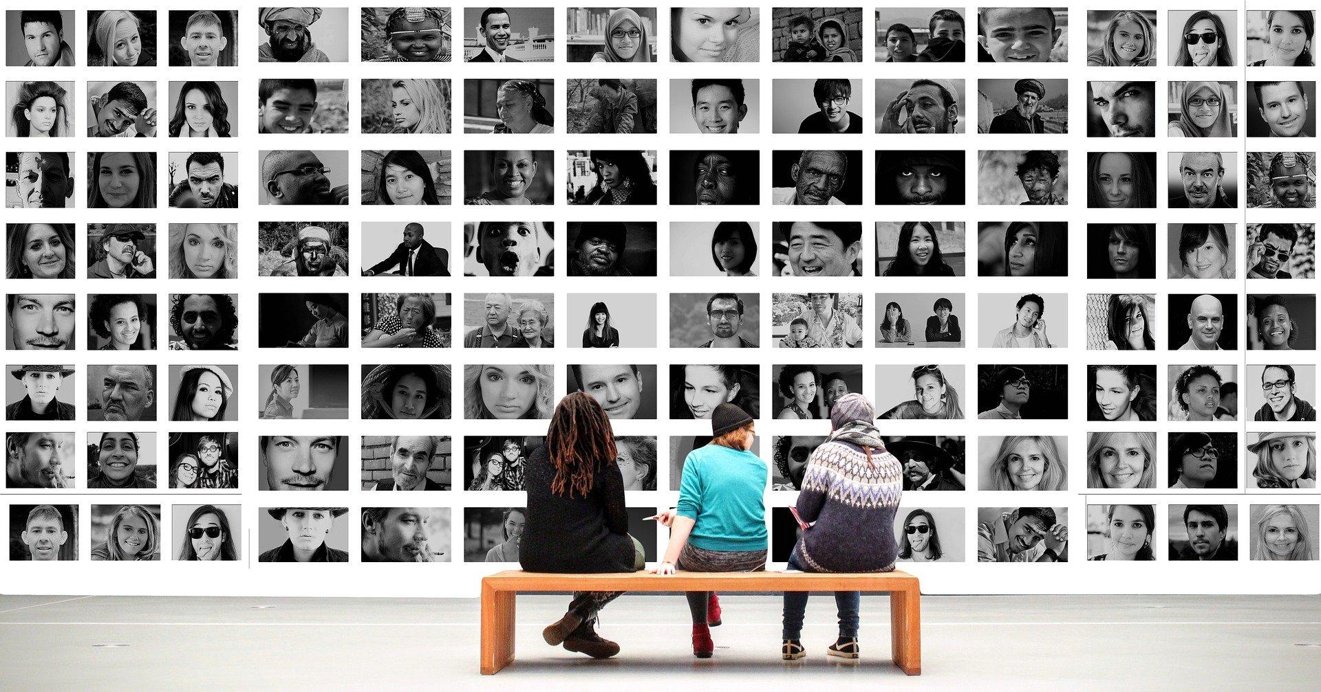 people looking at people personas