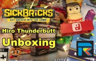 Sick Bricks Hiro Thunderbutt Unboxing and Overview