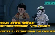 LEGO Star Wars the Force Awakens – PS VITA – Chapter 2 – Escape from the Finalizer