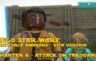 LEGO Star Wars the Force Awakens – PS VITA – Chapter 6 – Attack on Takodana