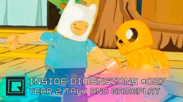 Inside Dimensions #027 – Year 2 Talk and Gameplay