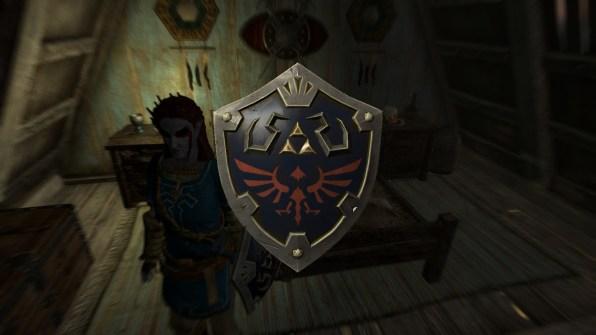 Hylian Shield!