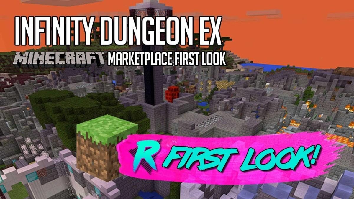 Infinity Dungeon EX – First Look – Minecraft Marketplace