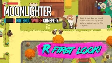 Moonlighter - First Look - Nintendo Switch