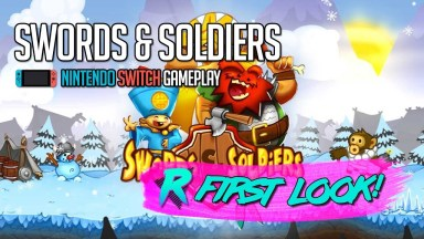 Swords & Soldiers - First Look - Nintendo Switch