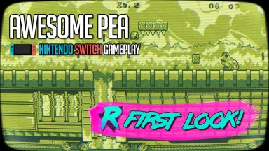 Awesome Pea - First Look - Nintendo Switch