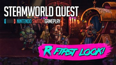 SteamWorld Quest - First Look - Nintendo Switch Gameplay