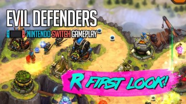 Evil Defenders - First Look - Nintendo Switch Gameplay