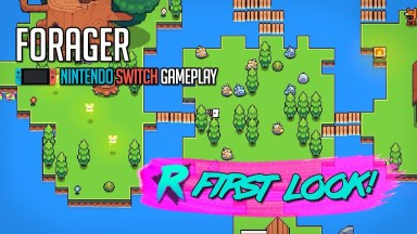 Forager - First Look - Nintendo Switch Gameplay