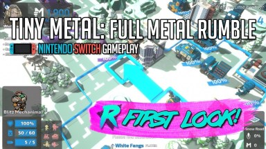 Tiny Metal: Full Metal Rumble - First Look - Nintendo Switch Gameplay