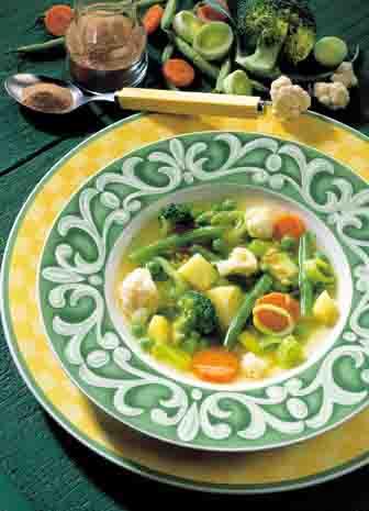 Quer durch den garten suppe