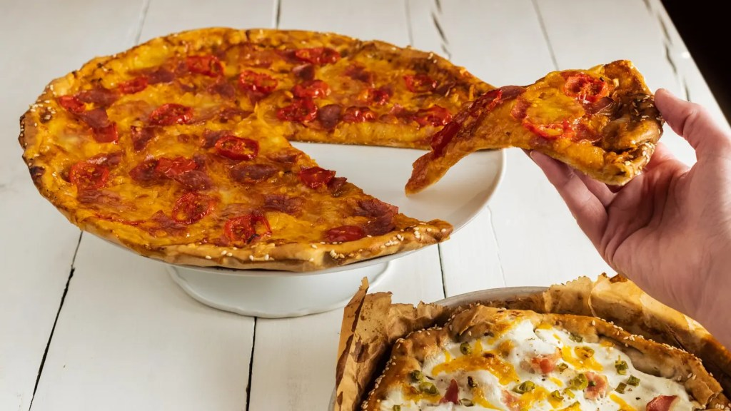 Pizza trifft Brezel