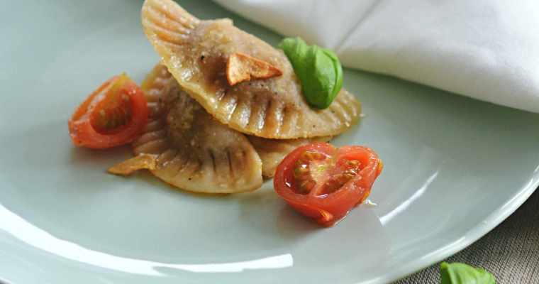 Handmade vegan Ravioli