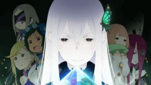 アニメリゼロ2期のキービジュアル