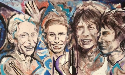 Ronnie Wood Announces New Rolling Stones Art