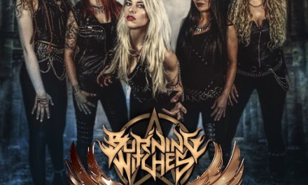 BURNING WITCHES – WINGS OF STEEL EP – NUCLEAR BLAST RECORDS