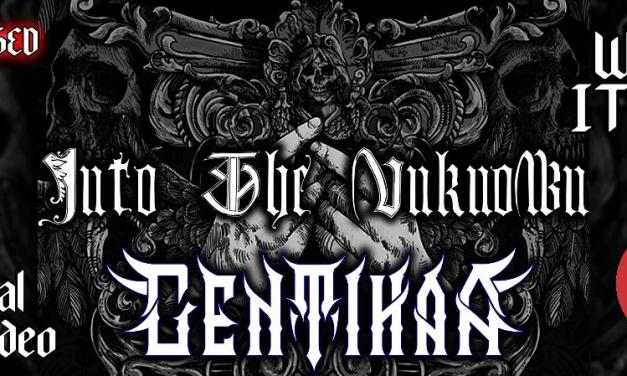 "GENTIHAA ""Into The Unknown"" Official Live VIDEO *NEW UNRELEASED TRACK*"