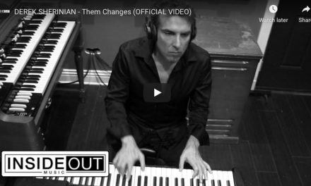 """Derek Sherinian launches video for a cover of Buddy Miles classic """"Them Changes"""", featuring Joe Bonamassa"""
