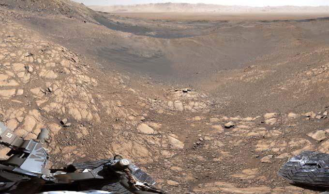 Ce panorama de Mars est d'une précision incroyable
