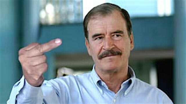 #FuckingWall : Former President of Mexico Kicks back at Trump with Hashtag