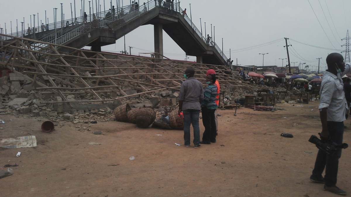 Lagos State Govt Demolishes Shops in Ketu Garage