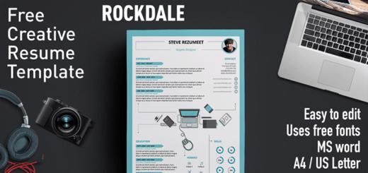 Free Resume Templates With Icons Rezumeet