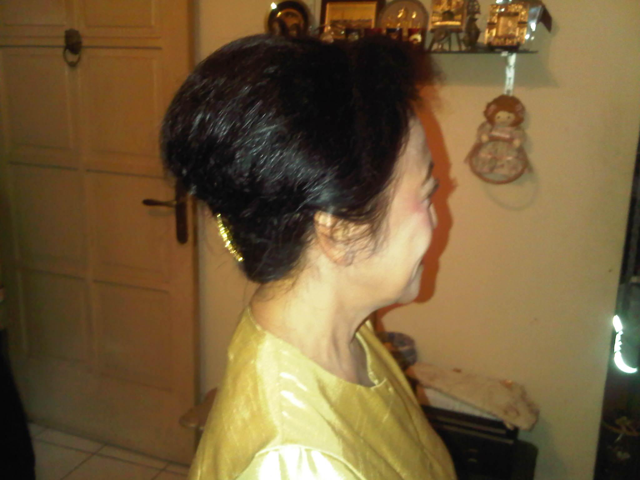 Makeup Untuk Orang Tua Dan Hair Do Untuk Bu Diah Rezy Andriati