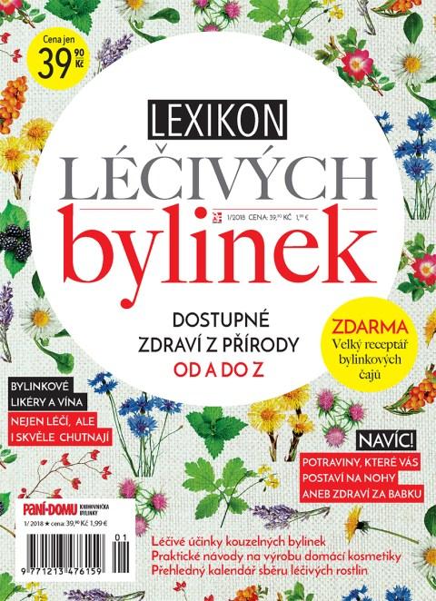 Aktuální číslo časopisu Edice knihovničky – Lexikon léčivých bylinek