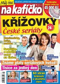 Křížovky České seriály – Můj čas na kafíčko 5/2018