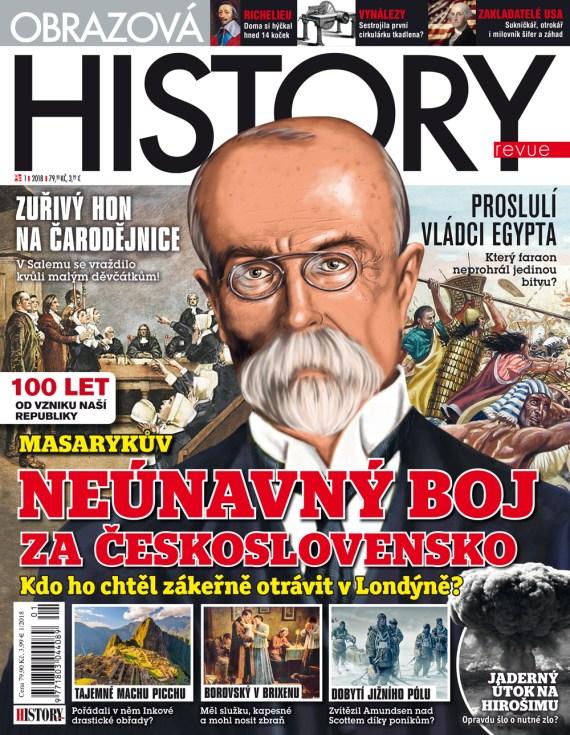 Aktuální číslo časopisu Obrazová History Revue