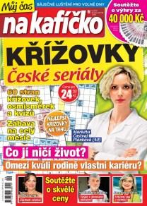 Křížovky České seriály – Můj čas na kafíčko 6/2018