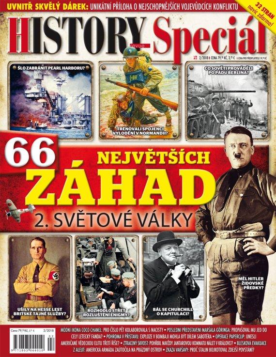 Aktuální číslo časopisu History Revue speciál