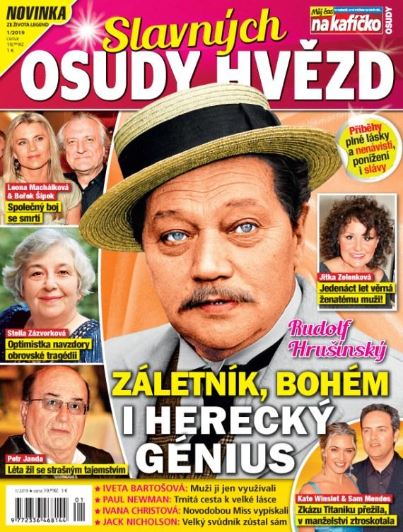 Aktuální číslo časopisu Osudy slavných hvězd