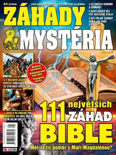 Aktuální číslo časopisu Záhady a mystéria