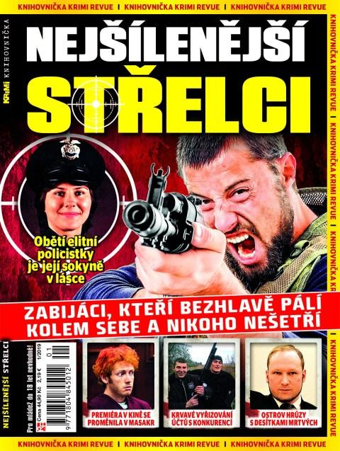 Aktuální číslo časopisu Knihovnička Krimi Revue