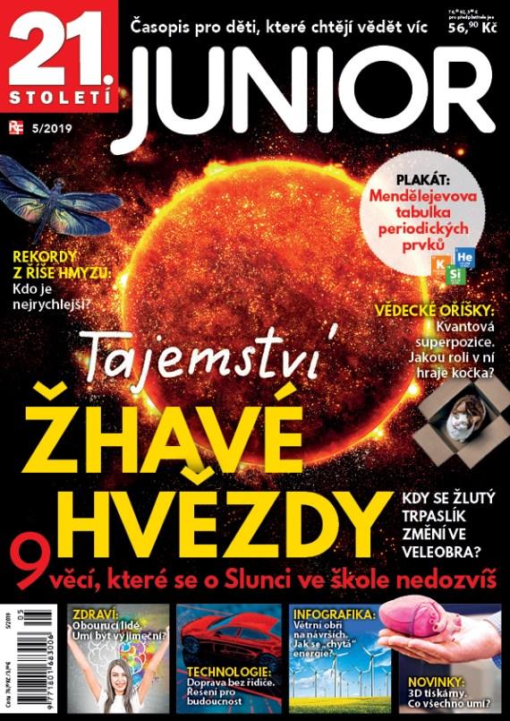 Aktuální číslo časopisu Junior