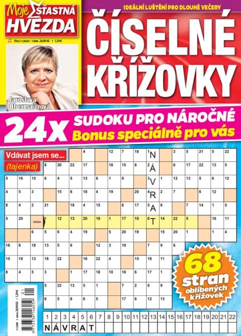 Aktuální číslo časopisu Číselné křížovky – Moje šťastná hvězda