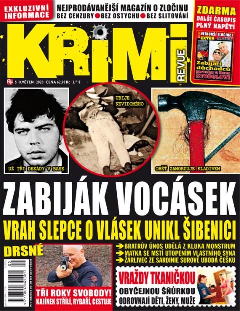 Aktuální číslo časopisu Krimi Revue