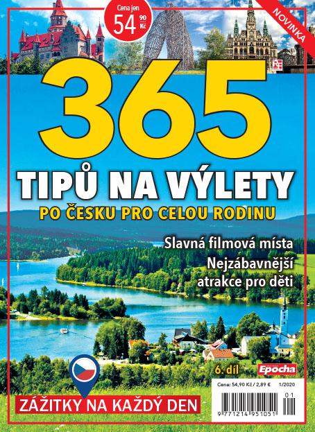Aktuální číslo časopisu Edice knihovničky – 101 tipů na výlety